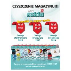 Rocznik 2015 - Świat Szkła - wersja elektroniczna