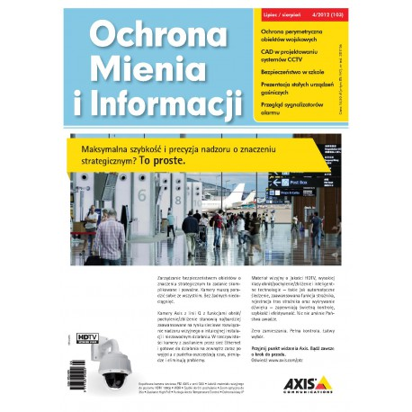 Ochrona Mienia i Informacji 4/2012
