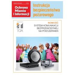 Ochrona Mienia i Informacji 1/2013 + Instrukcja bezpieczeństwa pożarowego