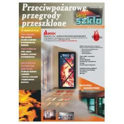 Przeciwpożarowe przegrody przeszklone + Świat Szkła 12/2014