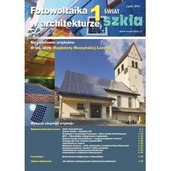 Fotowoltaika w architekturze + Świat Szkła 7-8/2015