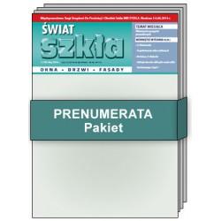 PAKIET Świat Szkła - Prenumerata drukowana + elektroniczna