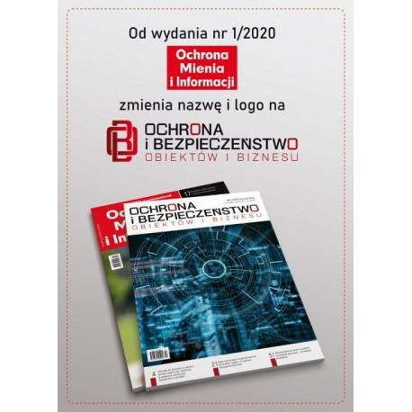 Prenumerata Roczna - Ochrona i Bezpieczeństwo