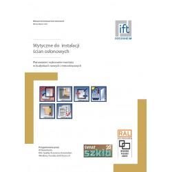 Instrukcja RAL - Wytyczne do instalacji ścian osłonowych